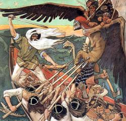 Dessin du Kalevala