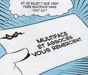 Carte de visite - Le défi de Multiface!