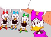 Lili, Lulu et Zizi Duck 3
