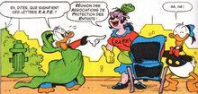 Picsou, Donald et Rapetou