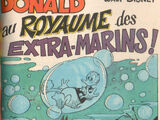 Donald au royaume des extra-marins !