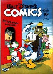 Walt Disney's Comics and Stories n°31