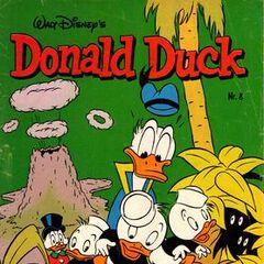 Couverture de la revue néerlandaise <i>Donald Duck</i> n<sup class=