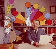 Walt Disney et Ludwig Von Drake