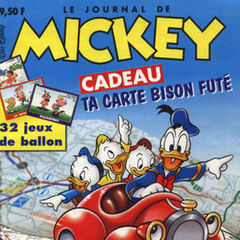 Couverture du <i>Journal de Mickey</i> n°2401.