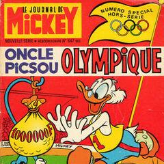 Neuvième numéro du <i>Mickey Parade</i> bis paru le 8 septembre 1968, qui porte le numéro 847.