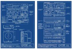 Plan du dépôt de Balthazar Picsou