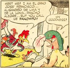 "Nom de Panchito dans ""Panchito"" de 1943"