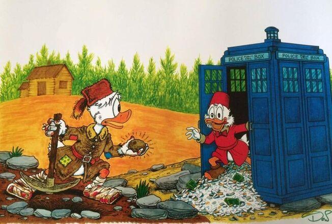 Picsou-Doctor Who