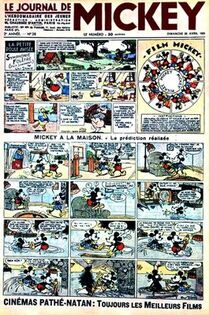 Le Journal de Mickey (avant-guerre) n°28