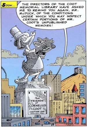 Statue de Cornélius Écoutum