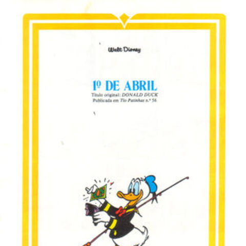 Illustration servant d'introduction à la revue brésilienne <i>Pato Donald Especial</i> <small>(Capa Dura)</small> n°1 du 22 novembre 1975, illustrant cette histoire. Elle a été réalisée en reprenant un dessin originalement réalise par <a href=
