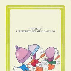 Riri, Fifi et Loulou habillés avec des casques de chevaliers. Cette illustration a été faite par Giuseppe Perego et fait référence à cette histoire.