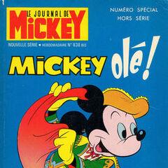 Huitième numéro du <i>Mickey Parade</i> bis paru le 16 juin 1968, qui porte le numéro 838.