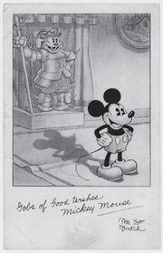 Mickey butch fan card