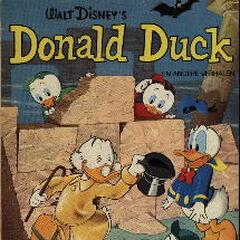 Couverture de la revue néerlandaise <i>Donald Duck en andere verhalen</i> n<sup class=