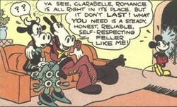 Horace Horsecollar et Clarabelle Cow