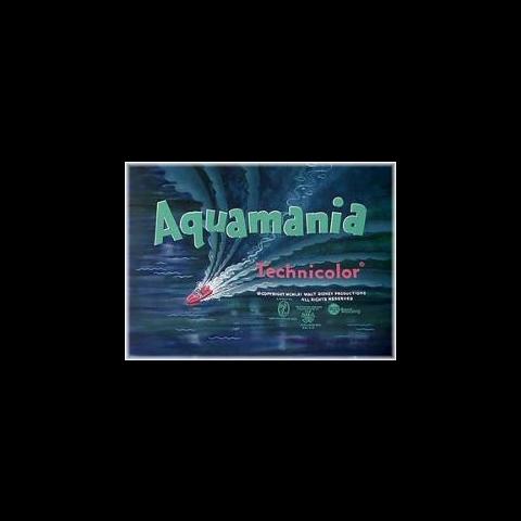 Le <i>title card</i> de <i>Aquamania</i>.