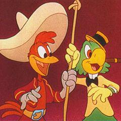 Panchito avec son meilleur ami avec <a href=