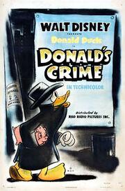 Affiche de Le Crime ne paie pas