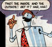 Hr-Robot inventé par von Drake