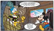 Pour Donald la générosité de Picsou est suspecte
