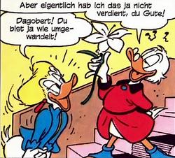 Brigitte et Picsou