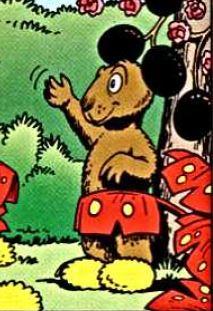 Faux Mickey Mouse Les 7 Fantastiques Caballeros (moins 4)