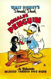 Affiche Le Pingouin de Donald