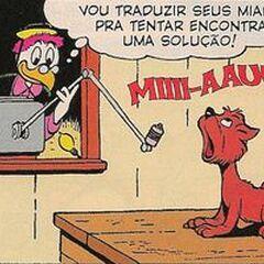 Géo dessiné par Carl Barks dans <i><a href=