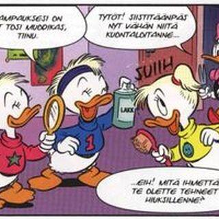 Lili, Lulu et Zizi «relookées» dans les années 1990 par l'hollandais <a href=