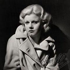 Phyllis Bounds Detiege, nièce biologique de Lillian Disney. Cette photographie a été prise par le second époux de Phyllis, George Hurrell Sr.