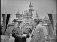Walt Disney et Art Linkletter