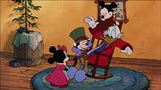 Picsou dans Le Noël de Mickey