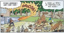 Courtebois met le feu à la forêt La Guerre des Windigos