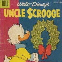 Couverture de <i>Uncle $crooge</i> n°16.