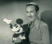 Walt en mickey