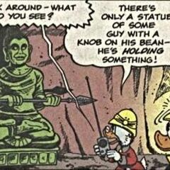 Statue de Bouddha, le neuvième avatar.