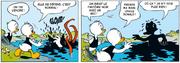 Donald Duck Attaqué Par Une Pieuvre