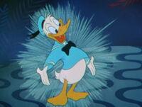 Donald Duck en dessin animé