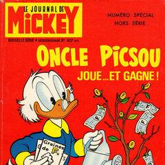 Sixième numéro du <i>Mickey Parade</i> bis paru le 12 novembre 1967, qui porte le numéro 807.