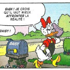 Daisy dessinée par Don Rosa dans <i><a href=