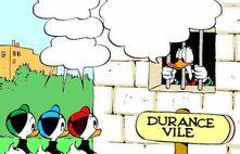 Donald Duck en prison