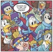 Donald filme ses neveux faisant du hockey sur glace