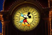 Horloge de l'Hôtel Disneyland à Paris