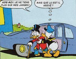 Donald chauffeur de Picsou