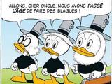 Riri, Fifi et Loulou Duck (adultes)