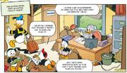 Donald dépose ses neveux au dépôt de Picsou