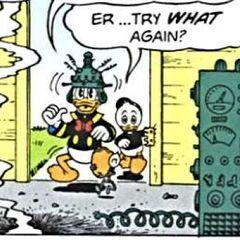 Filament continuant à porter Donald
