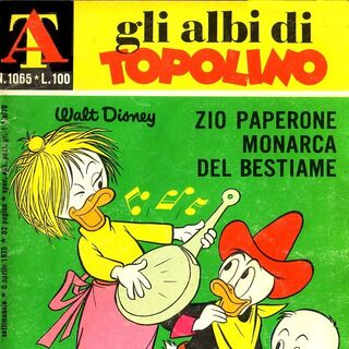 Couverture du n° 1065 des <i>Albi di Topolino</i>, dessinée par <a href=